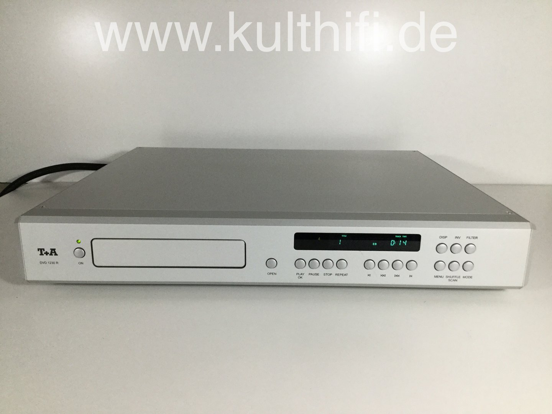 T+A High End DVD Player DVD1230R, silver, partially defective