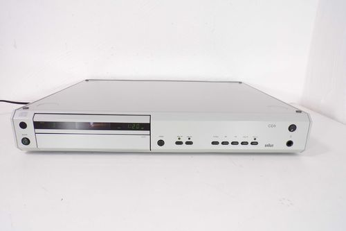 CD Player Braun Atelier HiFi CD5 / 2, CD 5/2, grey, very good, sgcd52gr