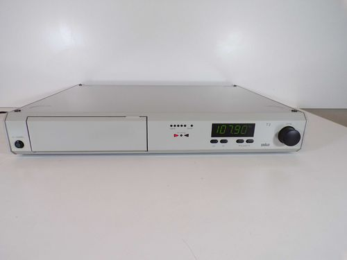 Tuner Braun Atelier Hifi T2 / T 2, grey, good condition, gt2gr