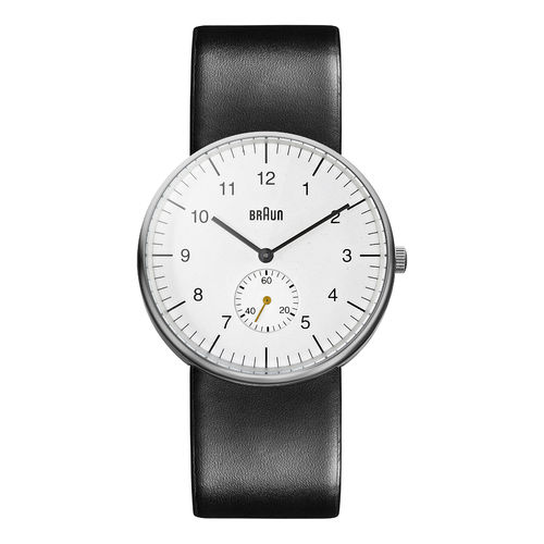Braun gents BN0024 classic watch with leather strap, WHBKG, 66503