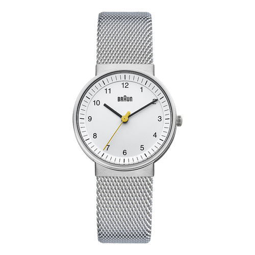 Braun ladies BN0031 classic watch with mesh bracelet, WHSLMHL, 66527