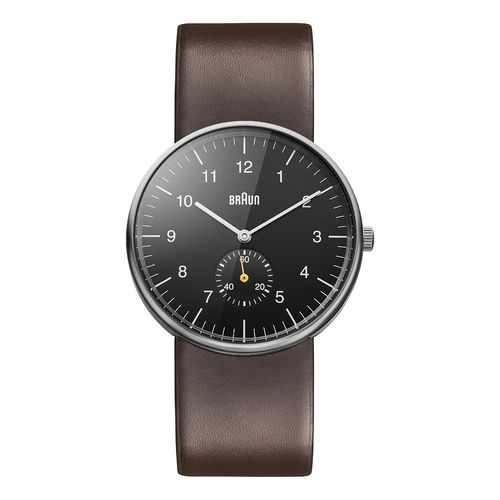 Braun gents BN0024 classic watch with leather strap, BKBRG, 66553