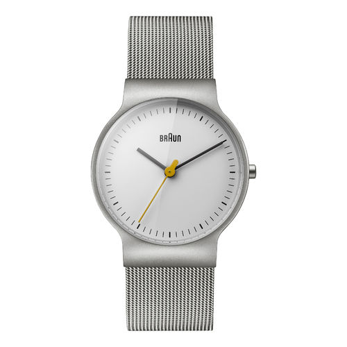 Braun ladies BN0211 classic slim watch with mesh strap, WHSLMHL, 66573