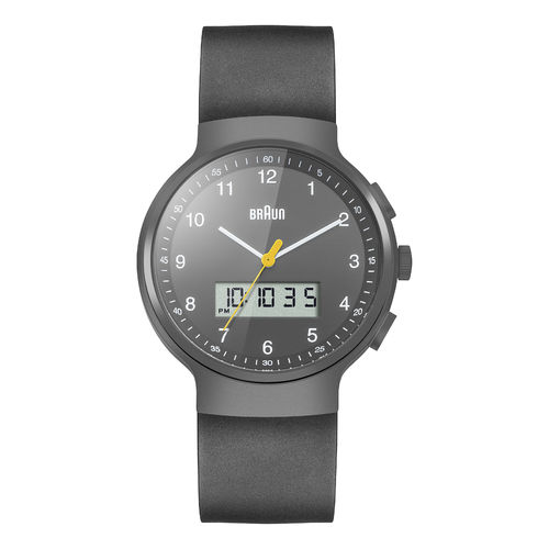 Braun gents BN0159 classic watch with rubber strap, GYGYG, 66564, brand new