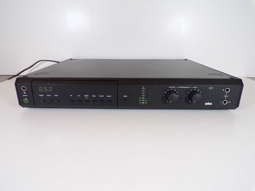 Tape deck Braun Atelier HiFi C1, black, defect, gc1def