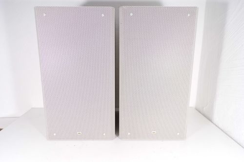 Speakers Braun Atelier HiFi RM7, white, good condition, 2147, 13622-13627