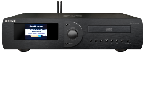 Audio Block CVR-100 MKII CD-Internet-Receiver, Bluetooth, black, brand new