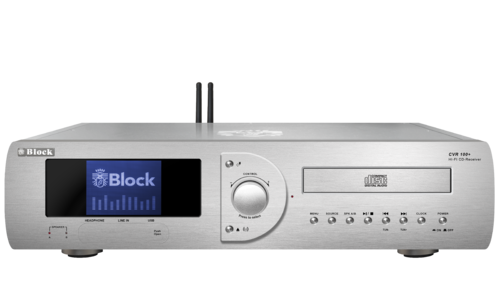 Audio Block CVR-100 MKII CD-Internet-Receiver, Bluetooth, silver, brand new