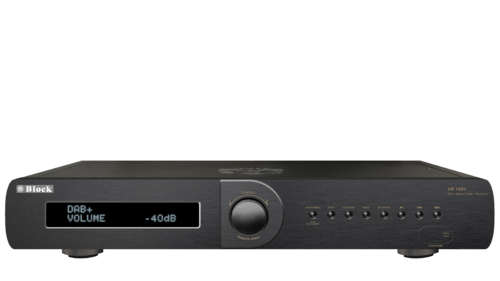 audio block vr 100 mkii receiver mit dab schwarz. Black Bedroom Furniture Sets. Home Design Ideas