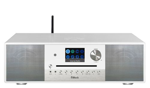 Audio Block SR-100 Smartradio, white, Bluetooth, Streaming, DAB+, brand new