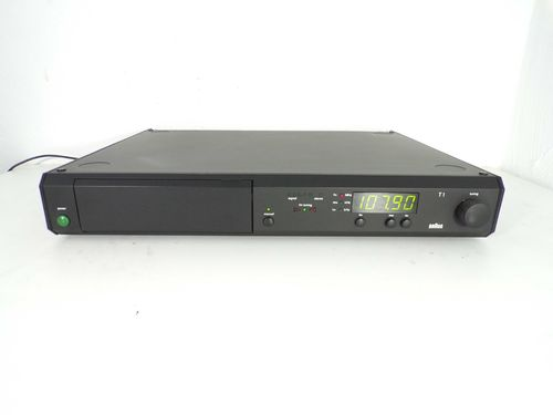 Tuner Braun Atelier HiFi T1 / T 1, black, very good condition, t1nw
