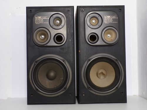 Speakers Clatronic PS 192, black, moderate condition, 9296083117, 2875