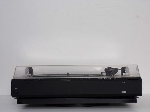Braun atelier HiFi record player P4M, very good condition, sgp4msw