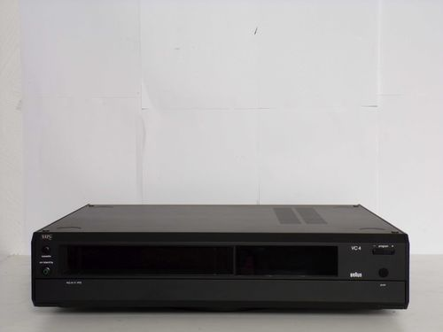 Video recorder Braun Atelier HiFi VC4, black, very good condition, sgvc4sw
