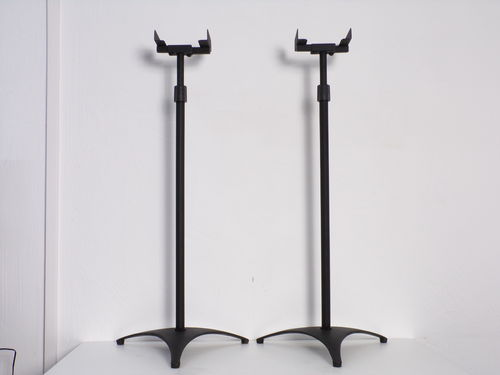 Speaker stands, black, flexible design, very good condition, 4084
