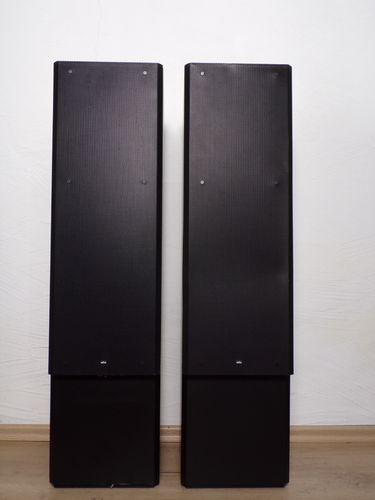 Speakers Braun Atelier HiFi M10 / M 10, black, good Zustand, 4089/10193
