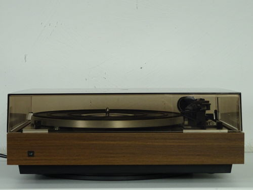 Dual record player CS 601, brown, very good condition, 4386/126563