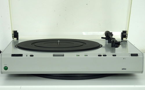 Record player Braun Atelier HiFi P1 / P 1, grey, very good condition, sgp1gr