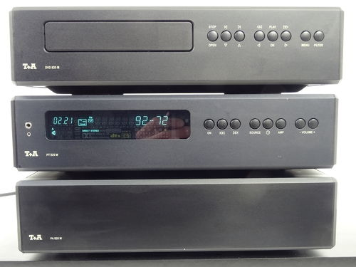 T&A 820 M complete system, (DVD, PT, PA), black, very good condition, 4836