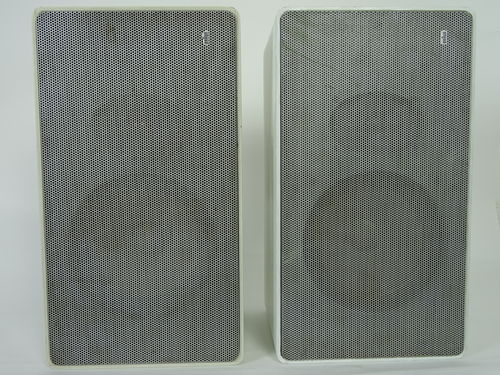 Braun L 610 compact speaker, white, good condition, 4901