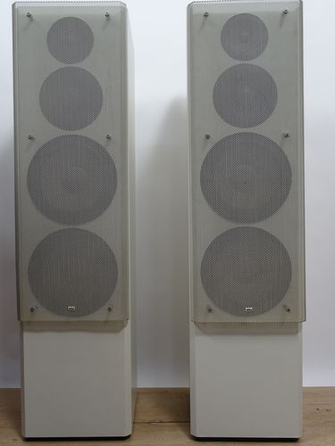 Speakers Braun Atelier HiFi LS130, grey, good condition, 5024/12041&12045