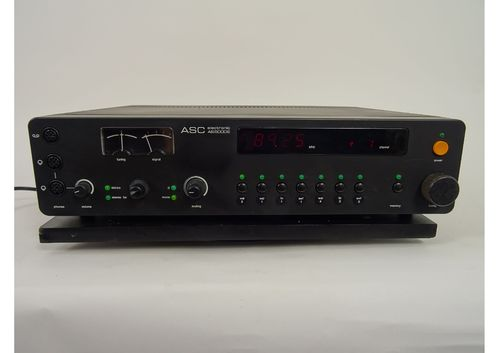 ASC AS 5000 E tuner, black, good condition, 5109/01901