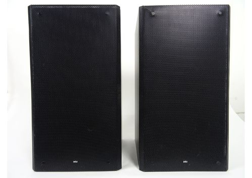Speakers Braun Atelier HiFi RM7, black, godd condition, 4989/14194/13185