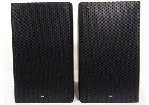 Speakers brown Atelier HiFi RM6, black, good condition, 5077/10597