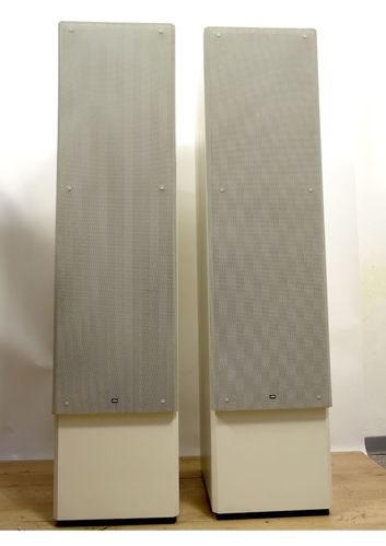 Floorstanding loudspeaker Braun Atelier M15, good condition, white, 5126/10655