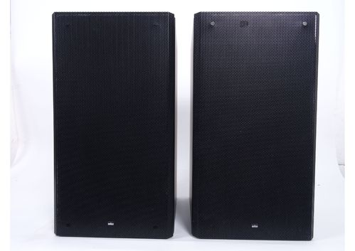 Speakers Braun Atelier HiFi RM7, black, good condition, 5146/10015&10017