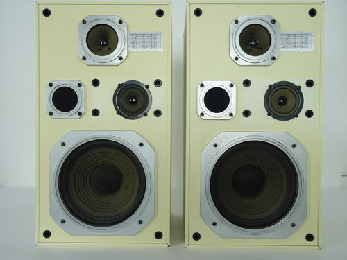 DANISH SOUND Ramo 80 speaker, white, moderate condition, 5200