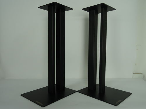 1 pair Apollo speaker stands in black, very good condition, 5203