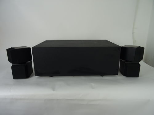 Bose Acoustimass speaker system, black, good condition, 4249318042
