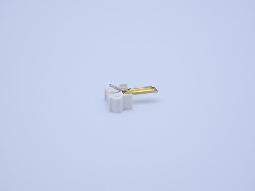 Replacement stylus SHURE M-44-7, white, high quality reproduction New, ENTO267DS