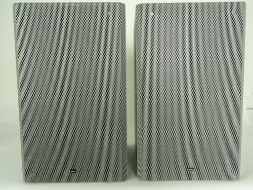 Speakers Braun Atelier HiFi RM6, grey, moderate condition, 5292/13636&11044