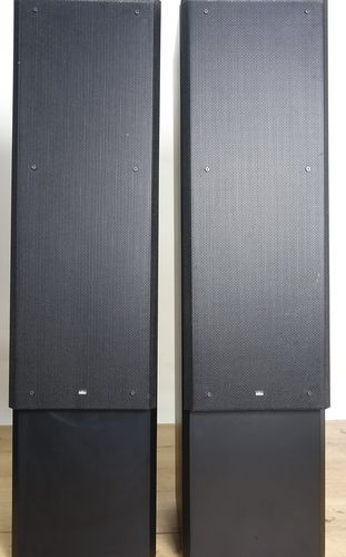 Speakers Braun Atelier HiFi LS130, black, good condition, 5276/18486&18485