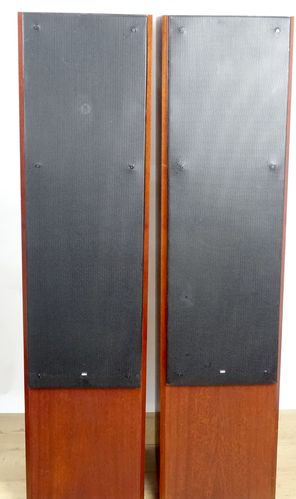 Speaker Braun Atelier LS200, redwood, very good condition, 5259/10310&10311