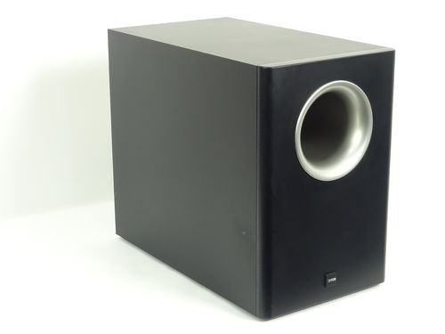 Canton AS20 subwoofer, black, very good condition, 5557/A119474